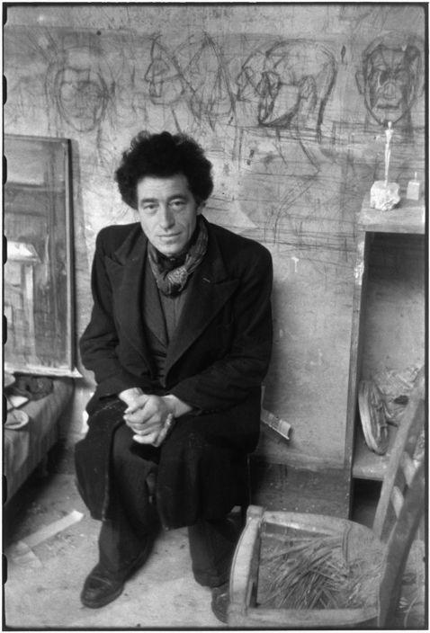 Henri Cartier-Bresson, « Alberto Giacometti, Paris, 1945 »