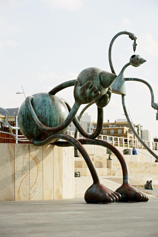 Crying Giant, Museum Beelden aan Zee, Scheveningen, The Netherlands