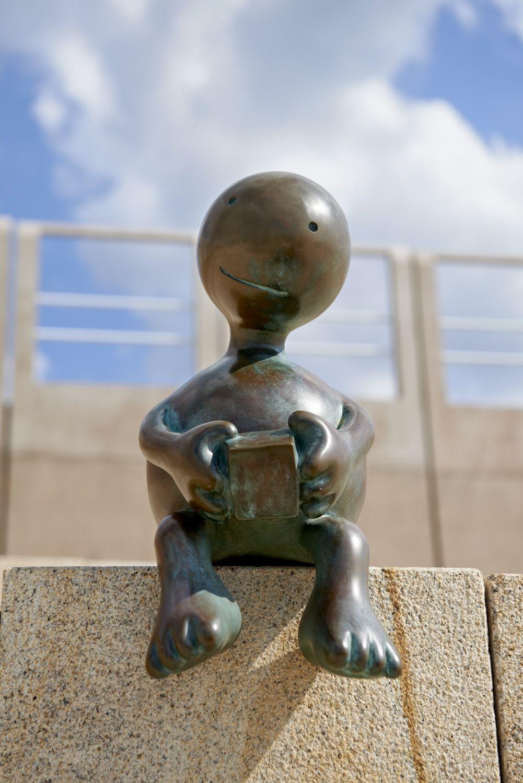 Sphere Holding Cube, Museum Beelden aan Zee, Scheveningen, The Netherlands