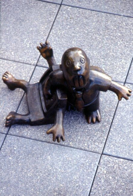 Law of Nature (Computer Beaver), Mark O.Hatfield US Courthouse, General Services Administration, Portland, OR