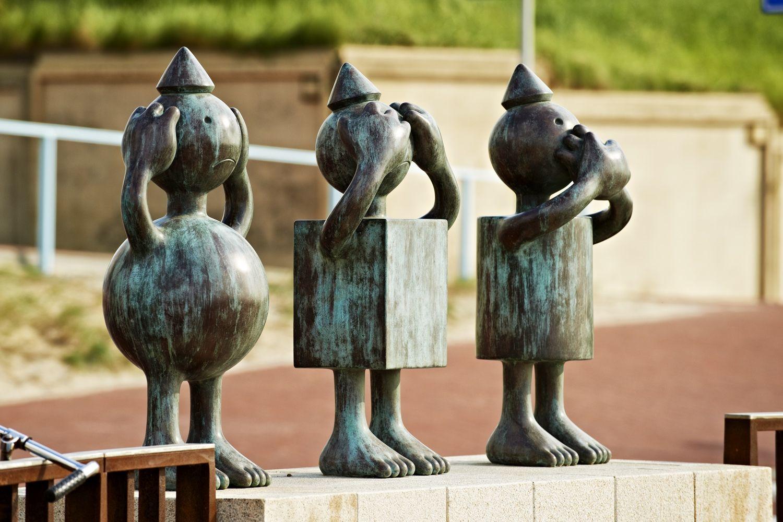 Three Evils, Museum Beelden aan Zee, Scheveningen, The Netherlands