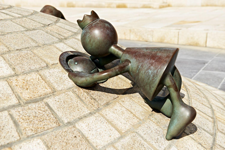 Curious Figure, Museum Beelden aan Zee, Scheveningen, The Netherlands