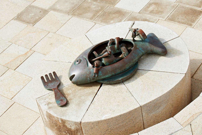 Fish Plate, Museum Beelden aan Zee, Scheveningen, The Netherlands