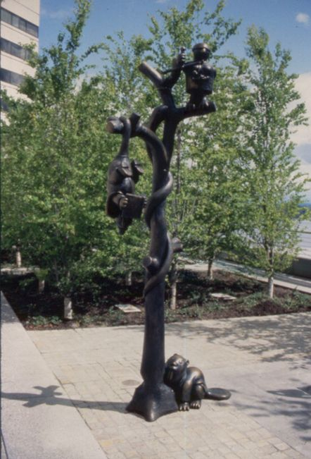 Law of Nature (Tree of Knowledge), Mark O.Hatfield US Courthouse, General Services Administration, Portland, OR