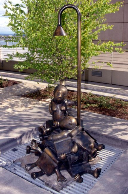 Law of Nature (Computer Pile), Mark O.Hatfield US Courthouse, General Services Administration, Portland, OR