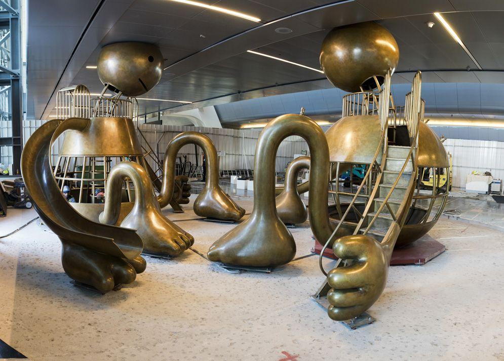 Other Worlds, Hamad International Airport, Doha, Qatar