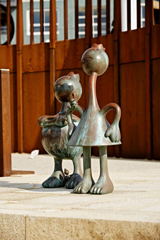 King & Queen, Museum Beelden aan Zee, Scheveningen, The Netherlands