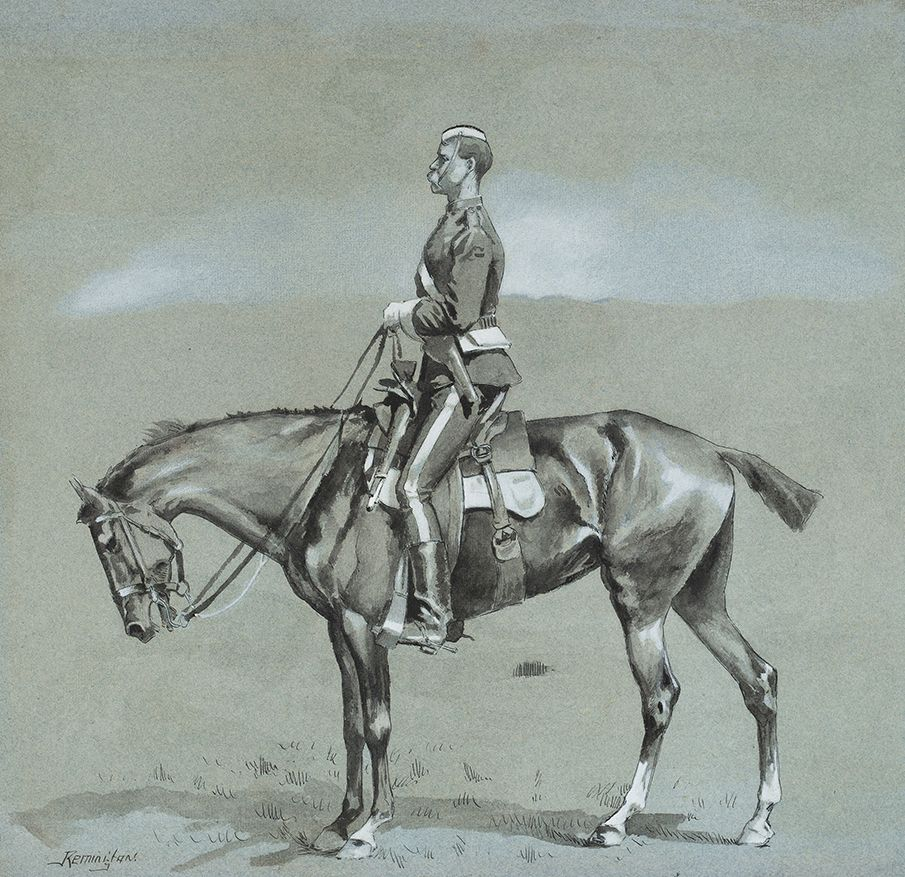 A Mounted Officer