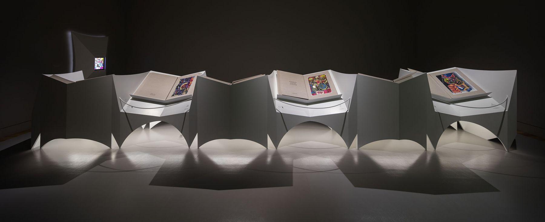 Lari Pittman - Mood Books - Huntington