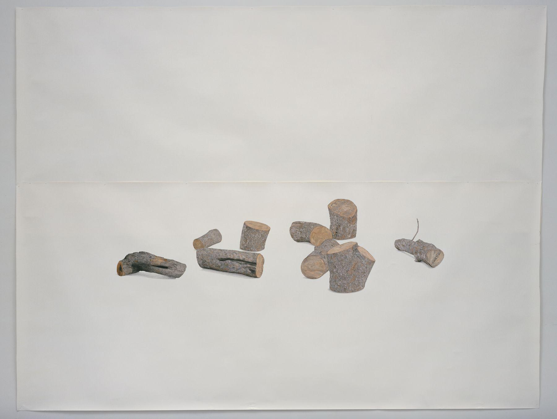 Toba Khedoori, Untitled (Logs)