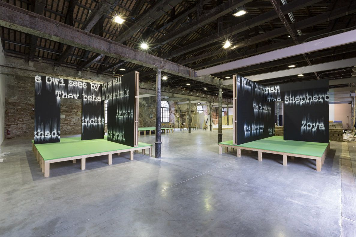 Gary Simmons - Venice Biennale