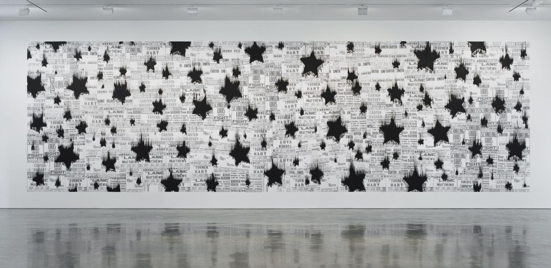 Gary Simmons, Black Star Shower