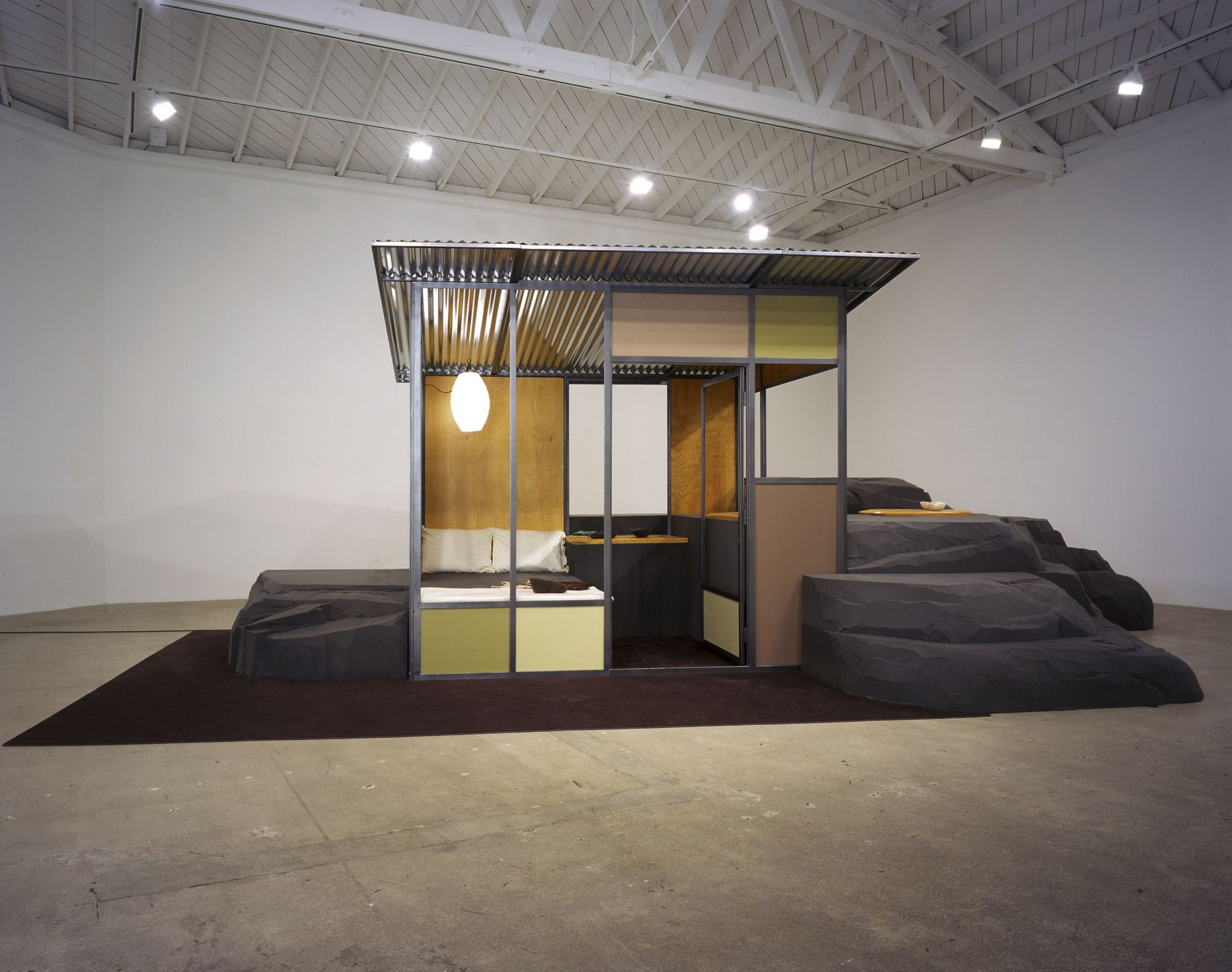 Andrea Zittel, A-Z Homestead Unit from A-Z West with Raugh Furniture 2001 - 2004
