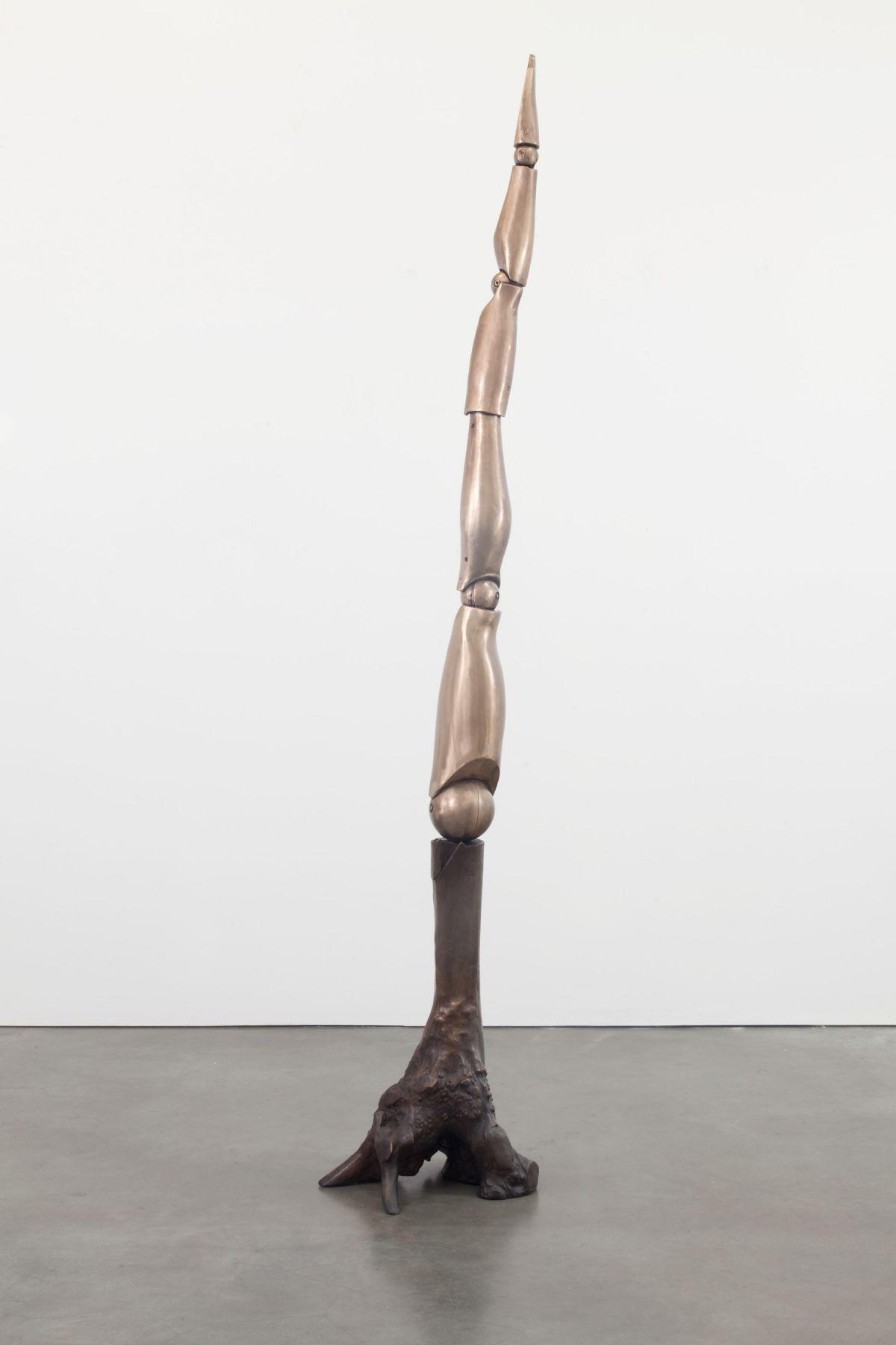 Elliott Hundley, Standing Figure