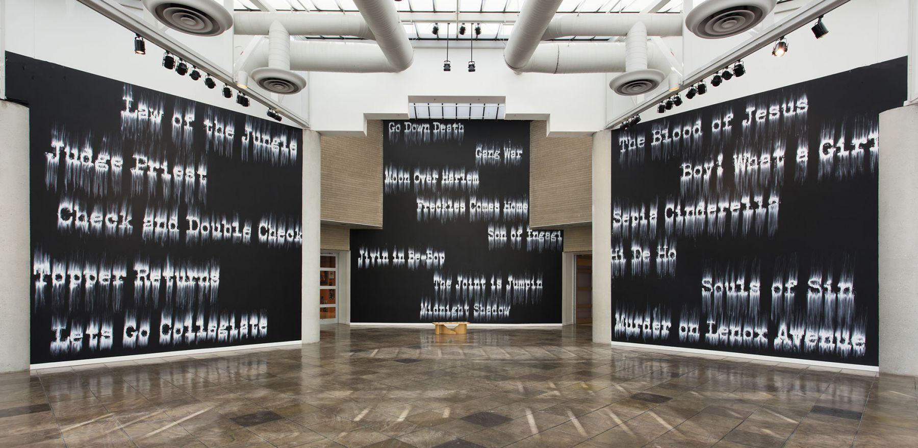 Gary Simmons - California African American Museum