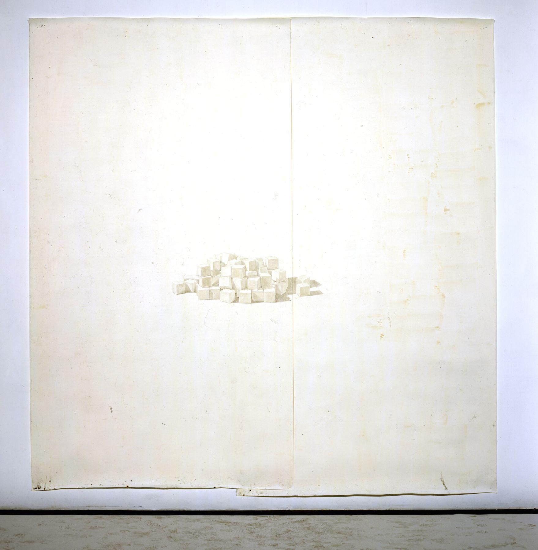 Toba Khedoori, Untitled (Blocks)