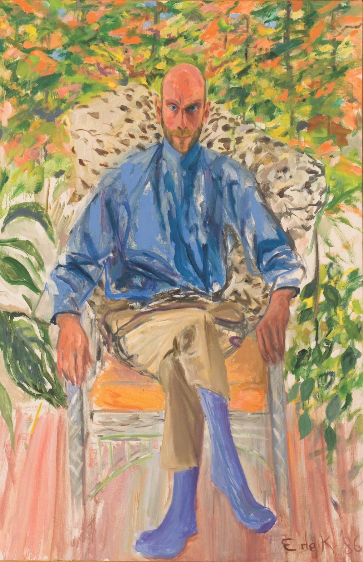 Elaine de Kooning, Portrait of Aladar Marberger