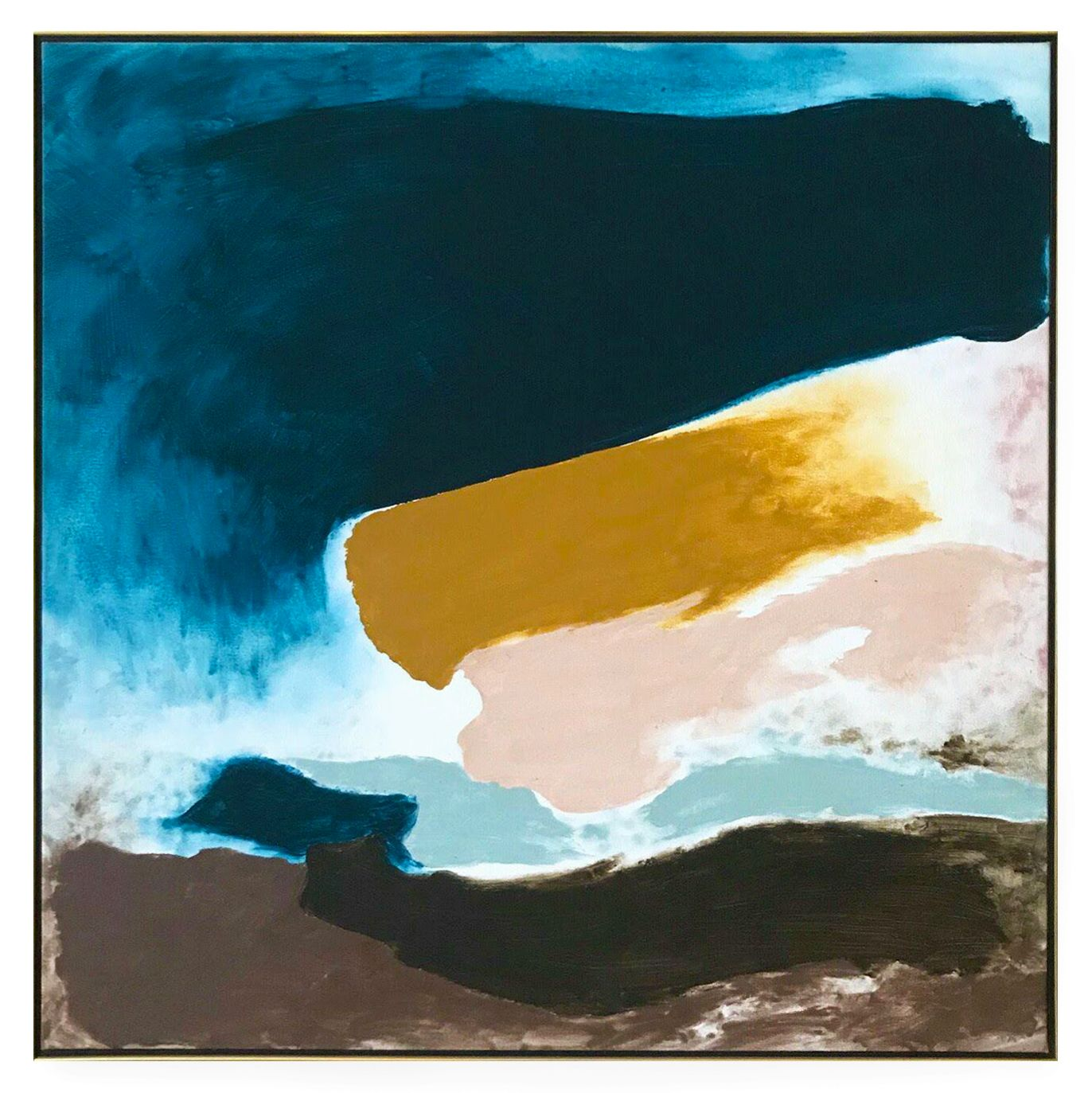 Friedel Dzubas, Soft Distance, 1982