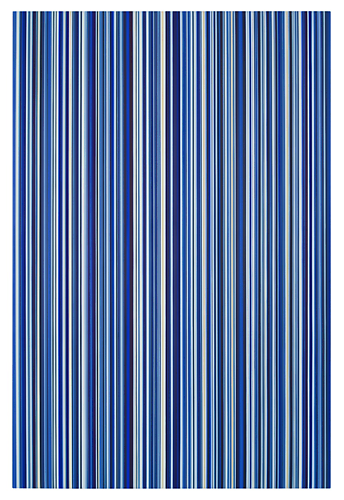 Stripes Nr. 34, 2012 Oil on canvas 72 x 48 inches