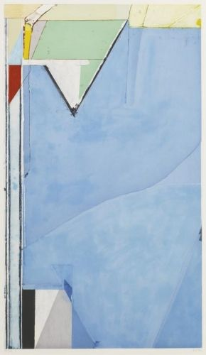 Richard Diebenkorn, High Green Version I, 1992, Aquatint and Etching Printed in Colors