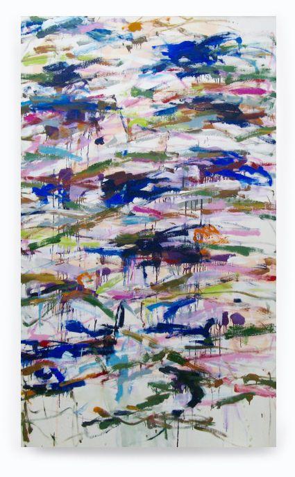 Blue Rain, 2015, Acrylic On Canvas