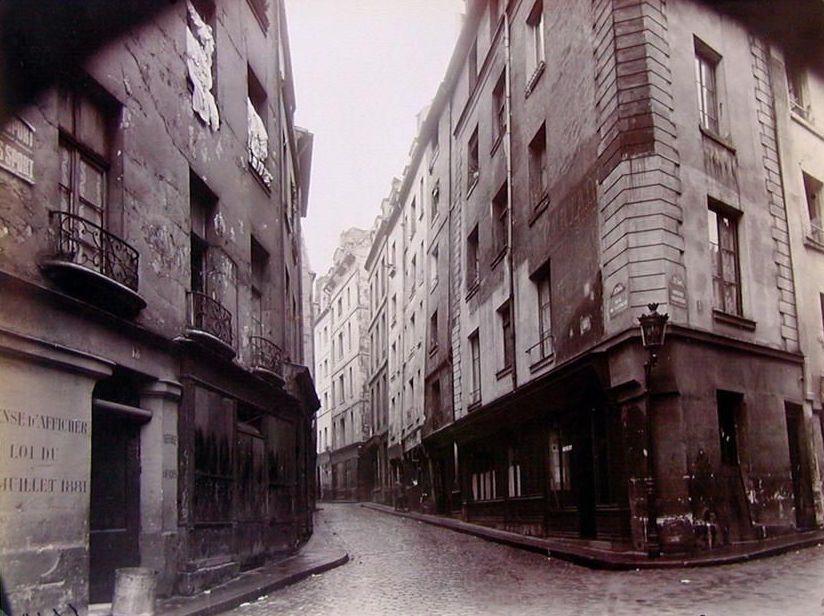Eugène Atget, Rue Lanneau, 1925