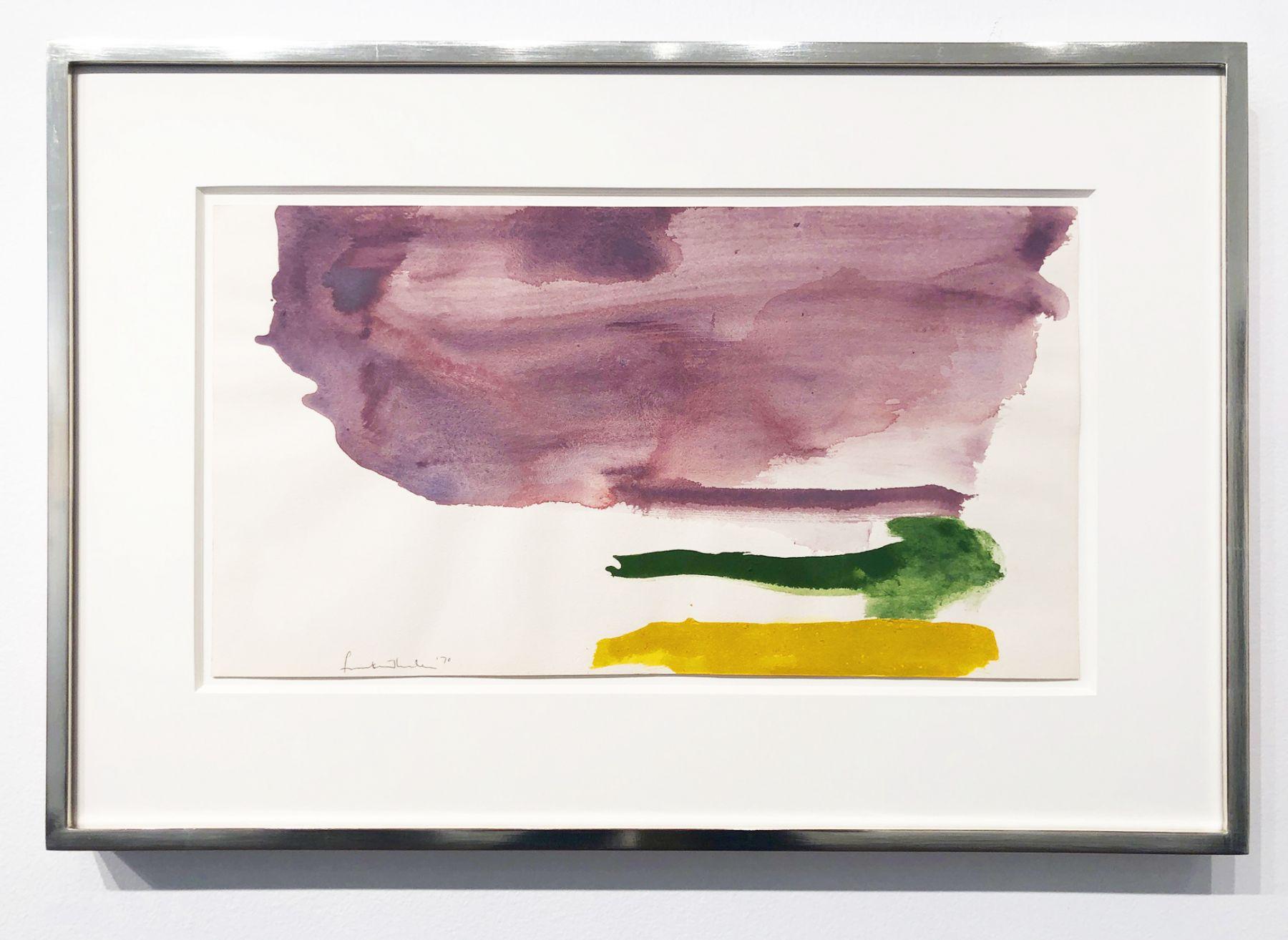 Helen Frankenthaler, Untitled, 1970