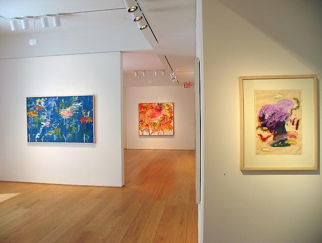 Installation view, Kikuo Saito: Paintings, 2009