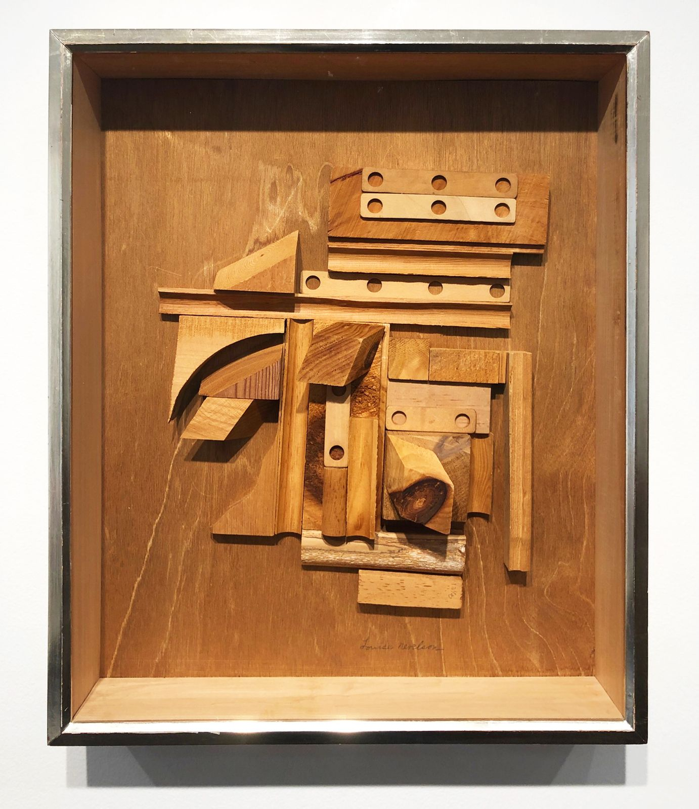 Louise Nevelson, Series of Unknown Cosmos XXXIX, 1965