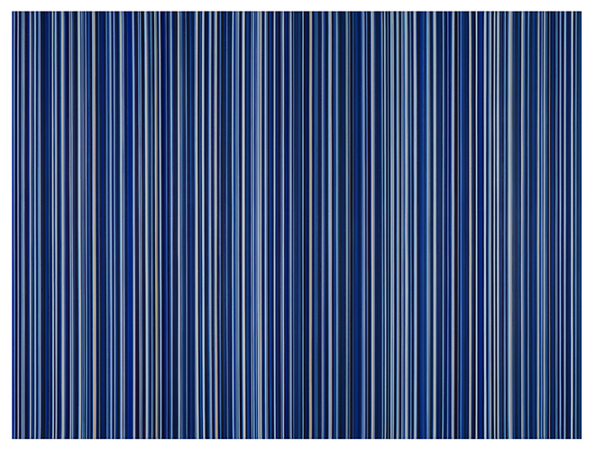 Stripes Nr. 73 and 74, 2014 Oil on canvas (diptych) 72 x 96 inches