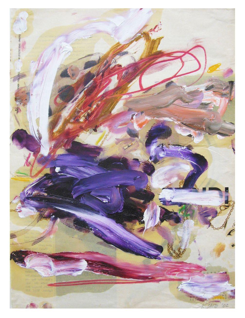 Kikuo Saito, #77, 2002
