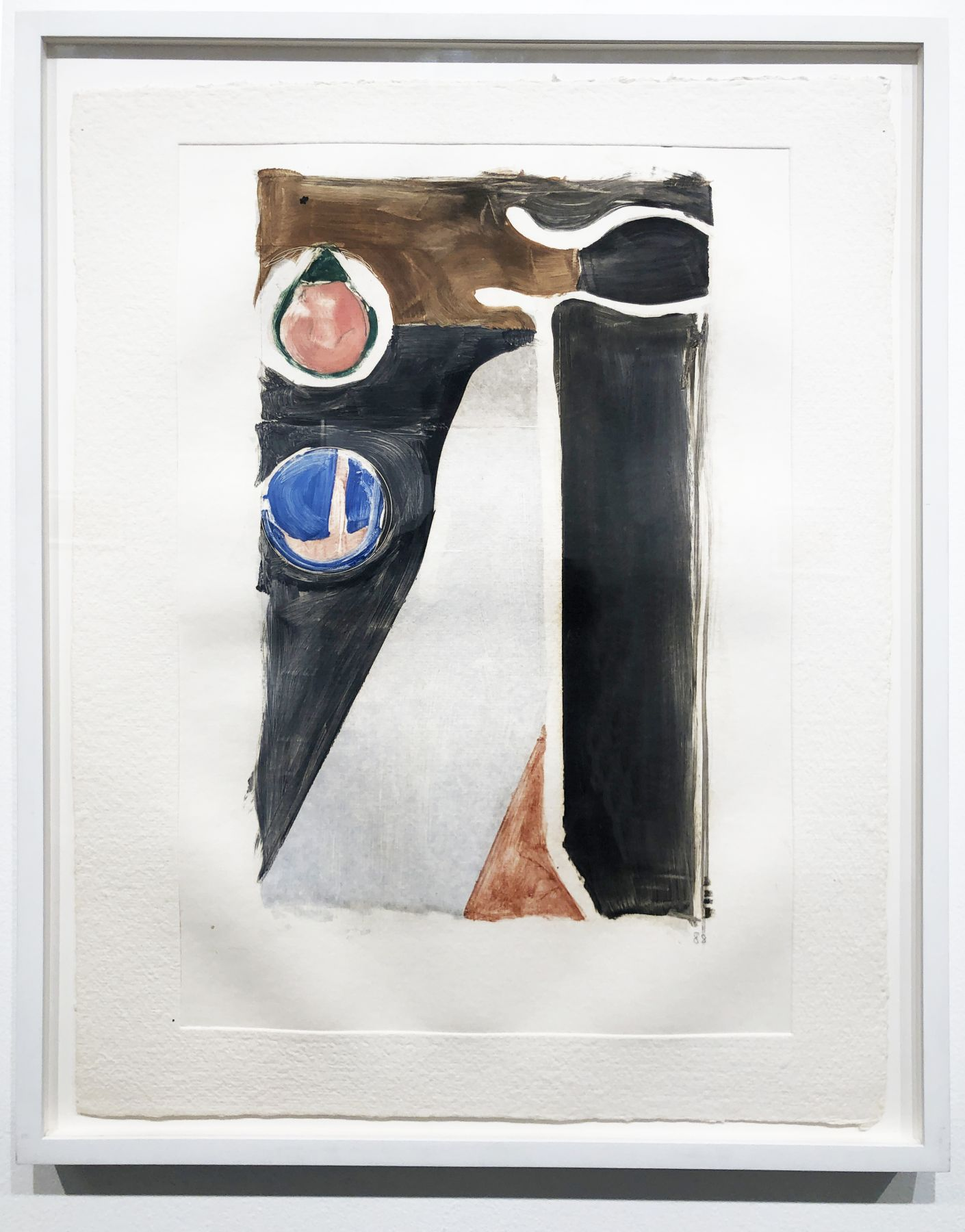 Richard Diebenkorn, V, 1988