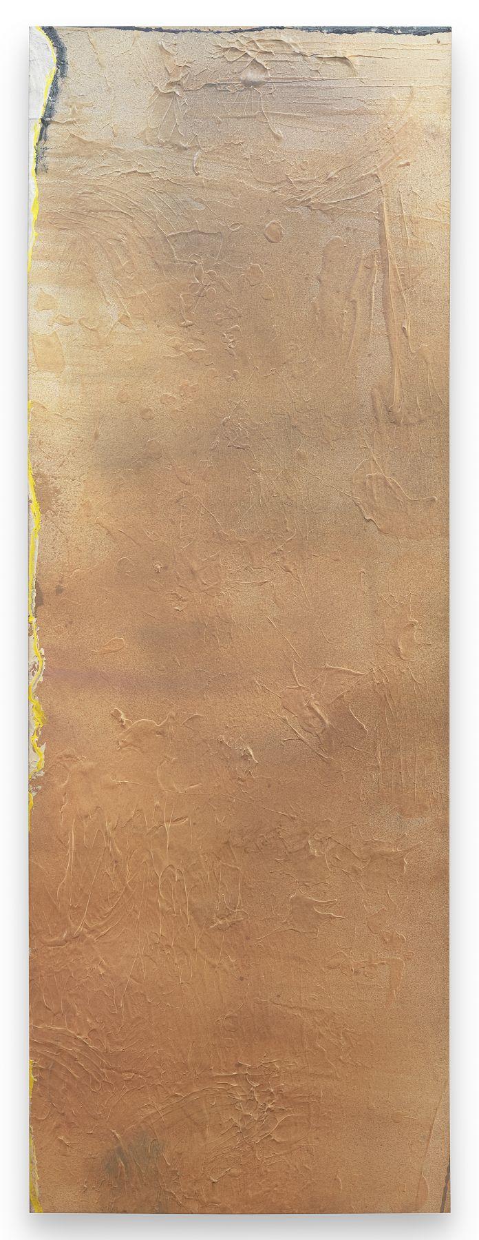Moab Plain-3, 1975, Acrylic on canvas