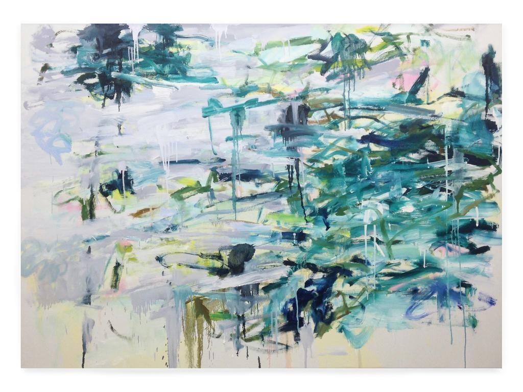 Dime Lake, 2015, Acrylic On Canvas