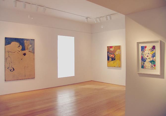 Installation view, Bella Pacifica: Bay Area Abstraction, 1946-1963: A Symphony in Four Parts, 2011