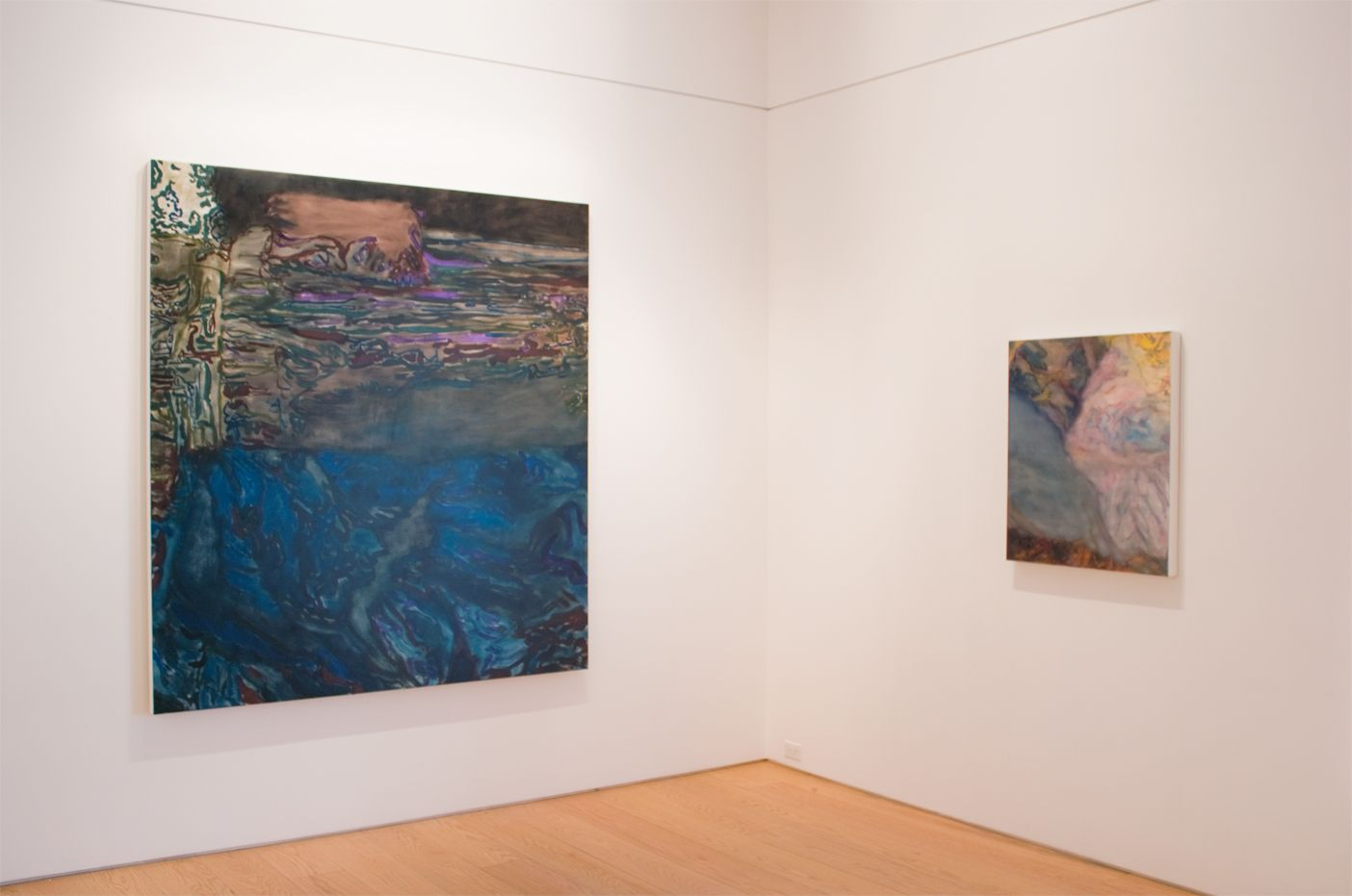 Liliane Tomasko Into the Darkness installation view