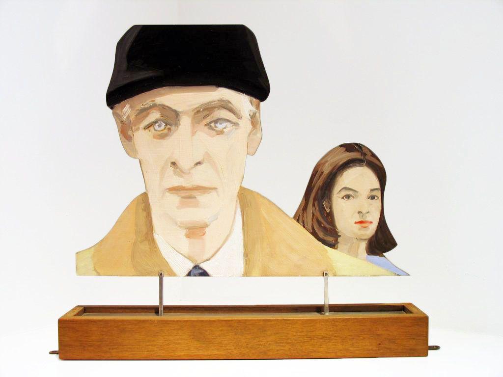 Alex Katz, Edwin and Ada (Edwin Denby and Ada Katz), 1966