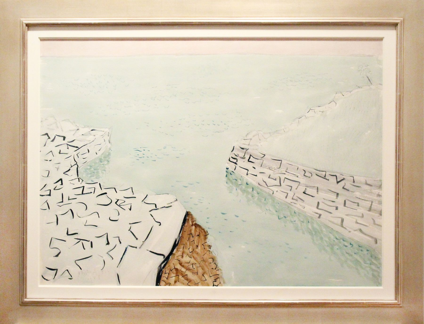 Milton Avery, Sea Walls, 1945