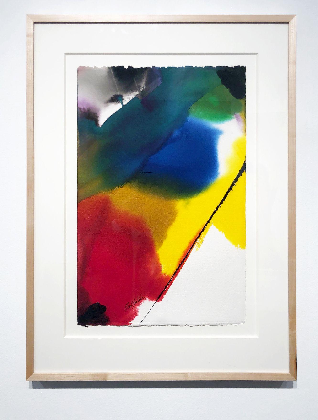 Paul Jenkins, Phenomena Glide Prism, 1988