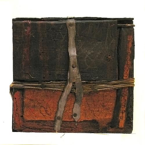Untitled, 1984 Wood, metal, paper, gesso, ink and string