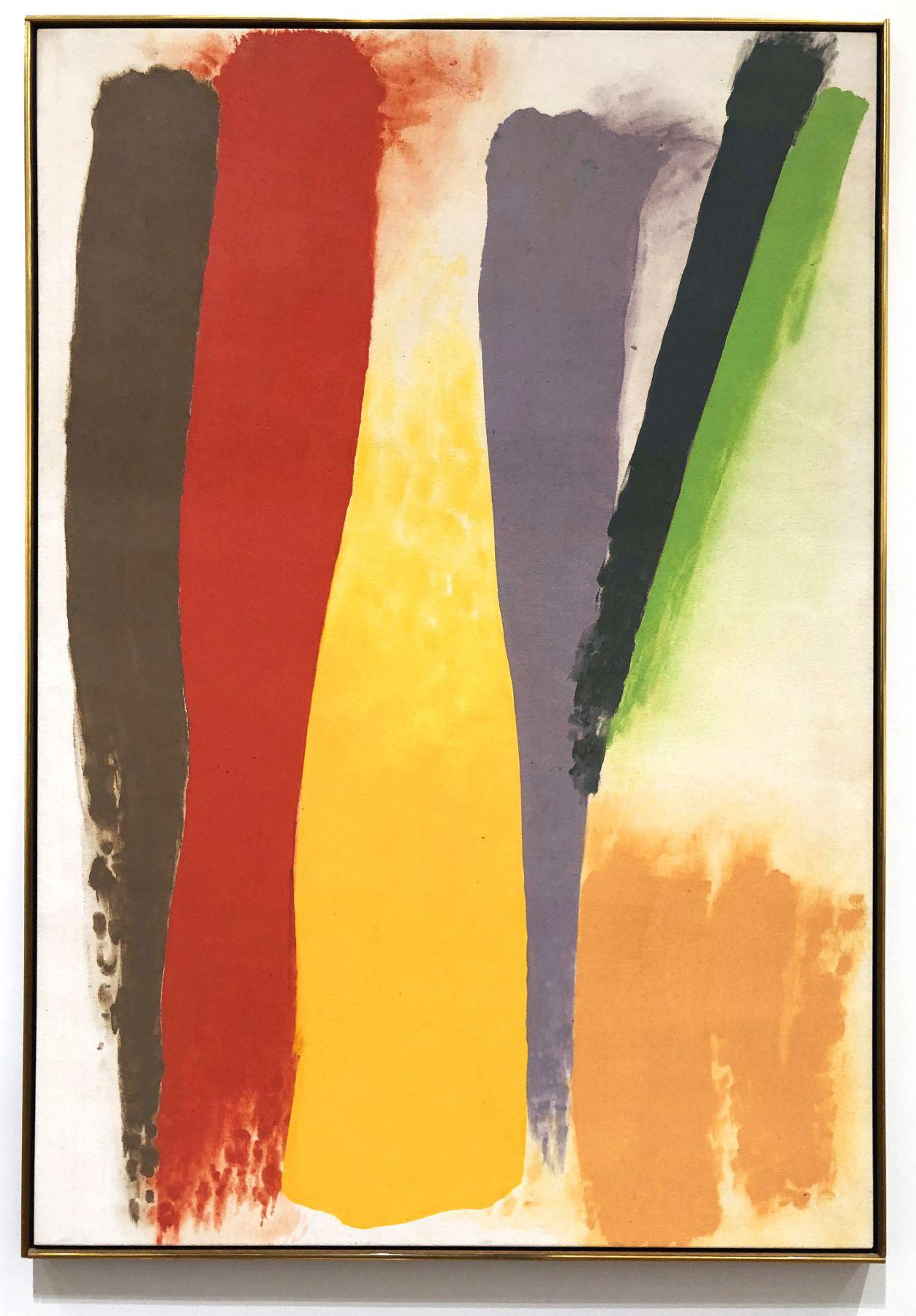 Friedel Dzubas, Center Yellow, 1973