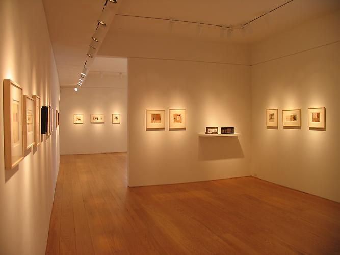 Installation view, Collages and Box Constructions, 1969 to 1985, 2008