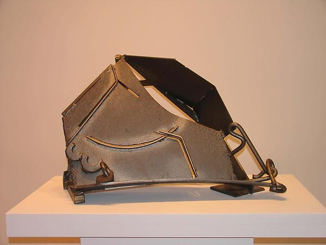 """Anthony Caro Table Piece Z-80 """"Remember,"""" 1982"""
