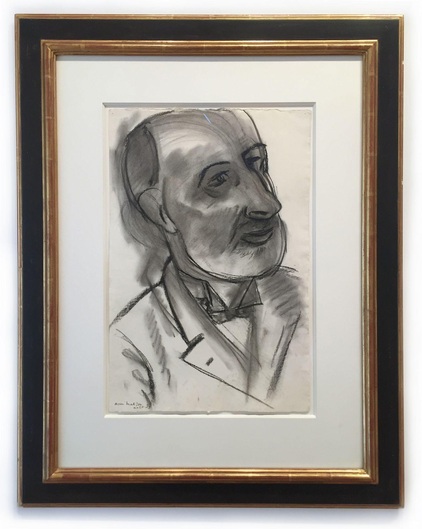 Henri Matisse, Portrait du peintre Pallady, 1939