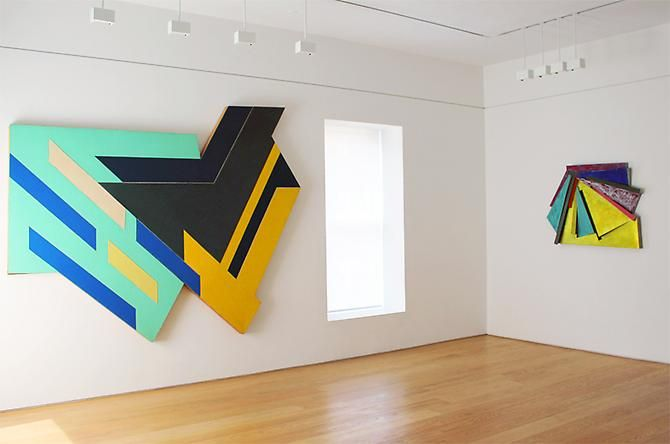 Frank Stella: Works from 1971-1987
