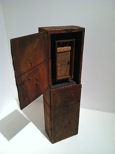 Untitled, 1981 Wood, metal, paper, gesso, ink and string