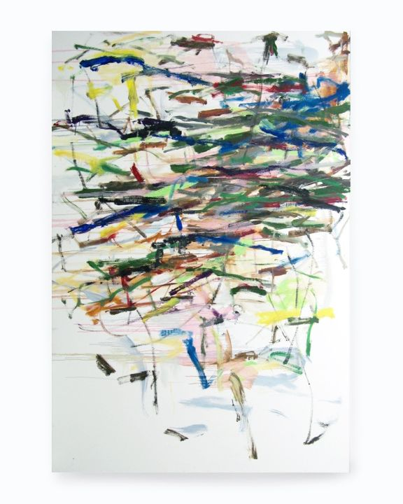 October II, 2015, Acrylic On Canvas