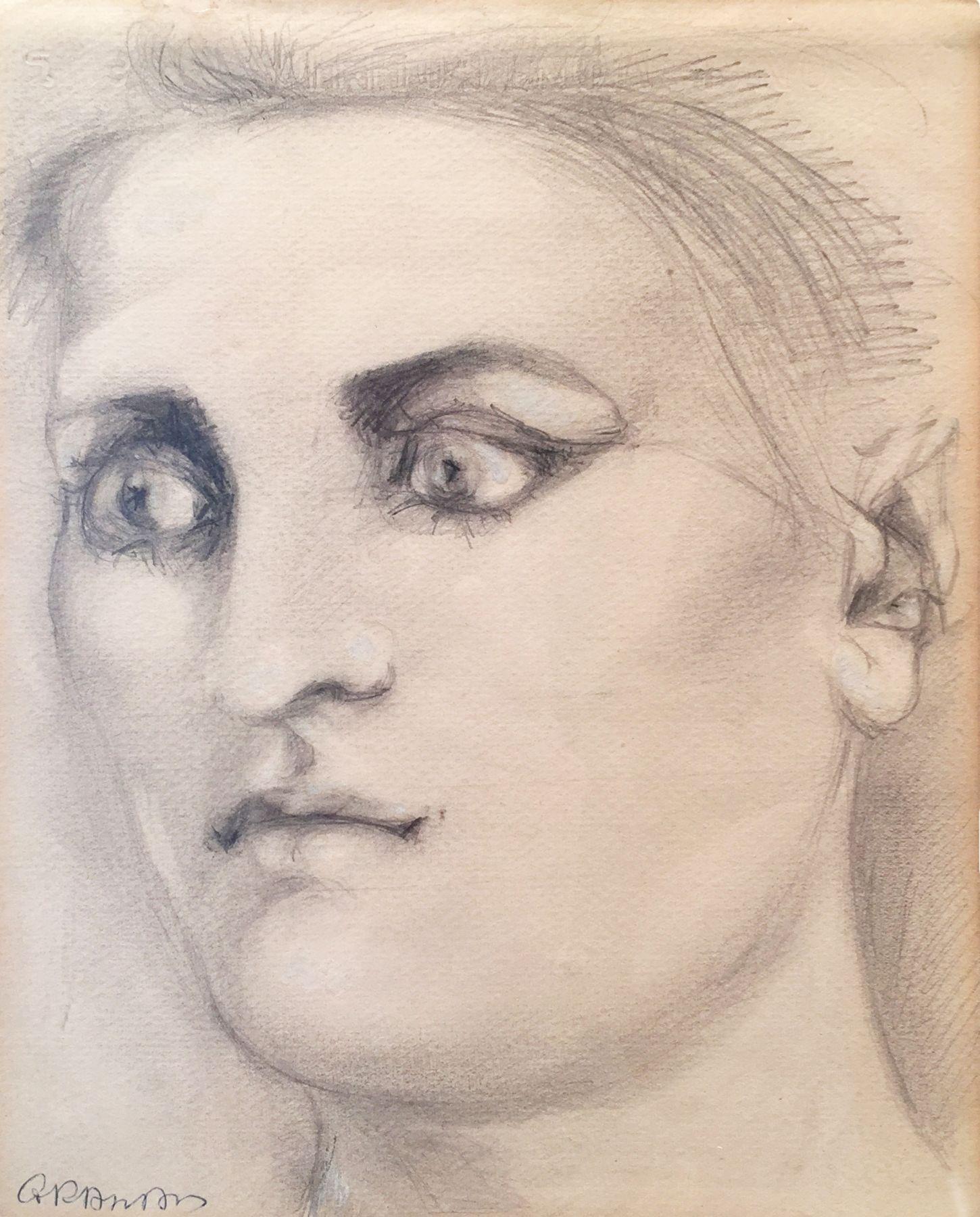 John Graham, Woman, 1950