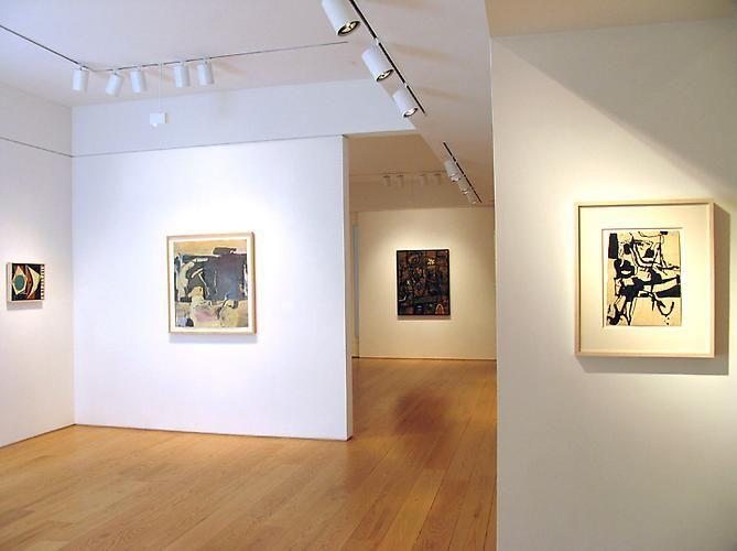 Installation view, Richard Diebenkorn in Context: 1949-1952