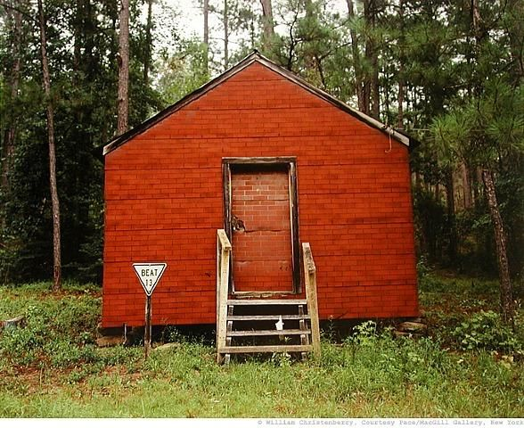 WILLIAM CHRISTENBERRY Red Building in Forest, Hale County, Alabama, 1994